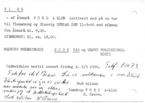 indmeldelse 1966